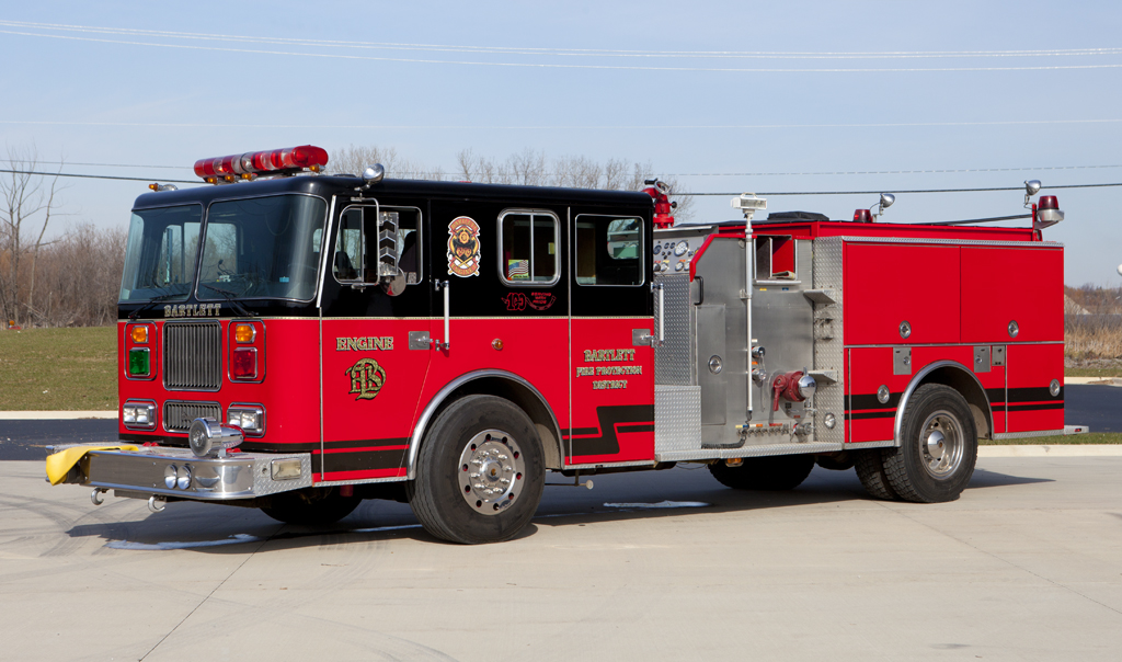 Bartlett FPD Seagrave engine