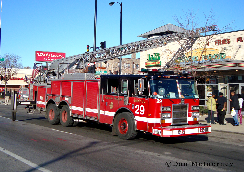 Chicago Fire Department ruck 29