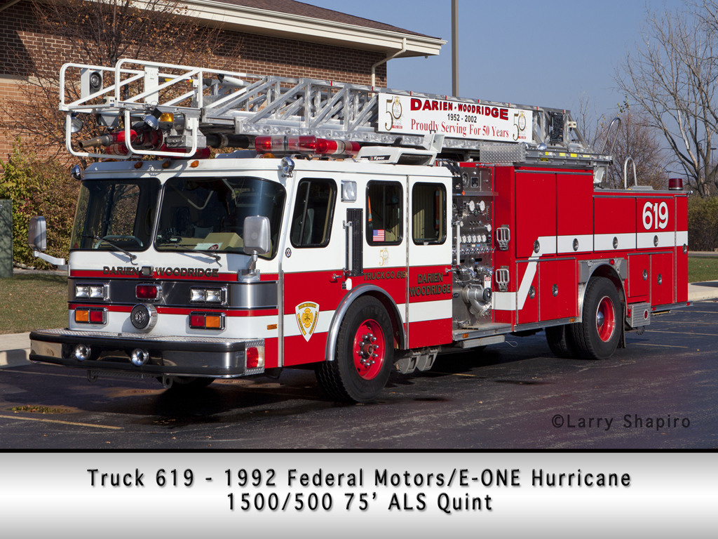 Darien-Woodridge FPD E-ONE quint