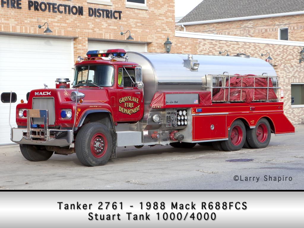 Grayslake FPD Mack R Stuart tender