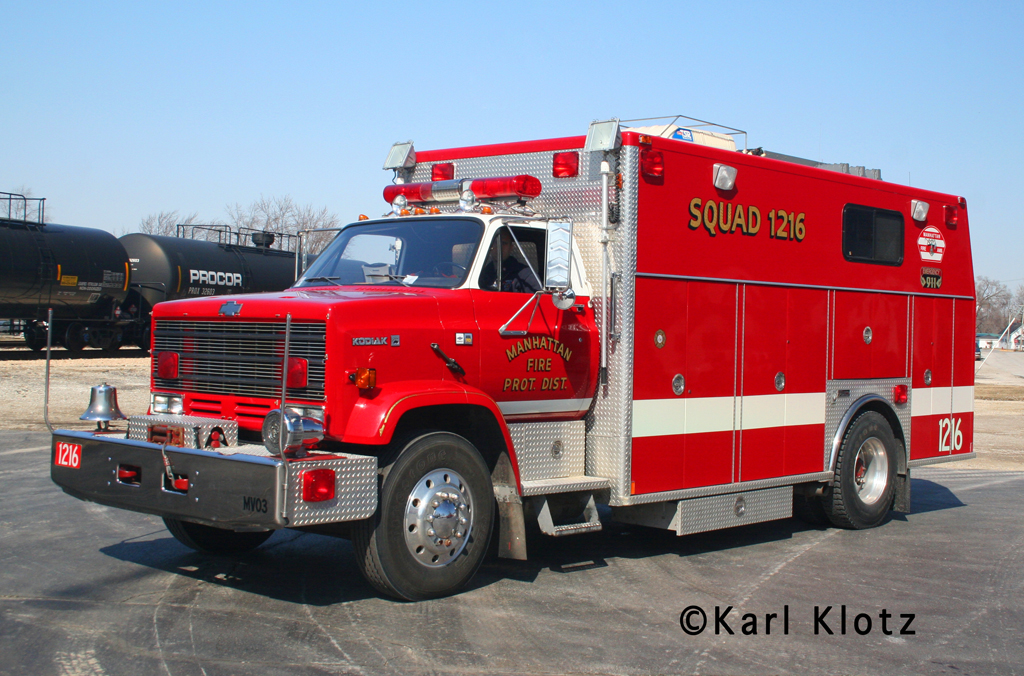 Manhattan Fire Protection District Chevy Kodiak Marion HDR for Manhattan EMA