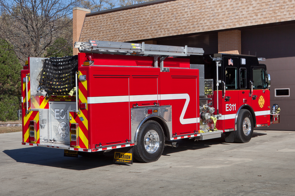 Oak Brook Terrace FPD Spartan Marion engine