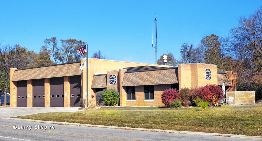 Oak Brook Terrace Fire District station