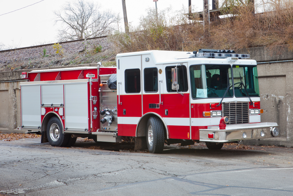 Oak Park Fire Department HME Ahrens Fox engine