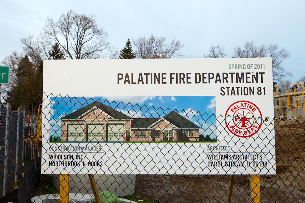 Palatine Fire Department new station