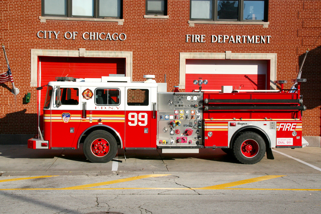 FDNY Engine 99 from the TV show Rescue Me