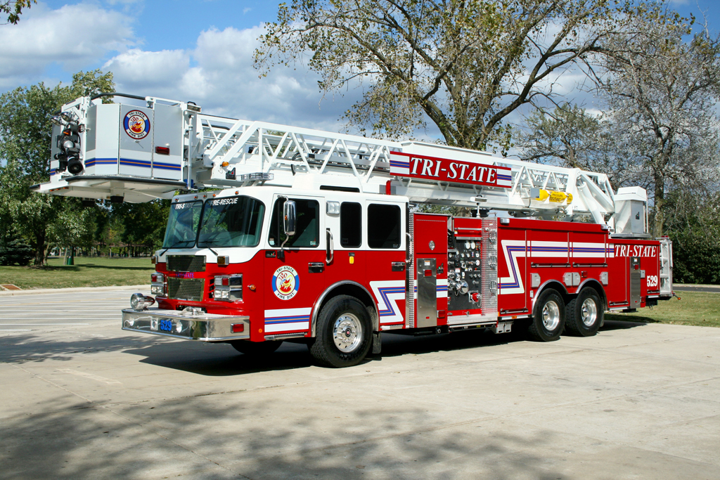 Tri-State FPD Spartan Smeal tower ladder