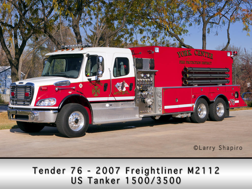 York Center FPD US Tanker tender