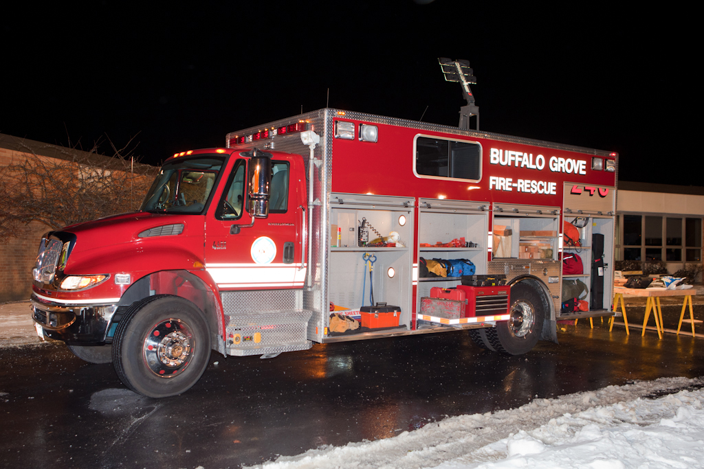 Buffalo Grove Fire Department Ford Marion Squad 26