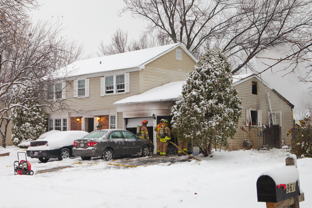 Buffalo Grove house fire 971 Belmar Lane 12-21-10