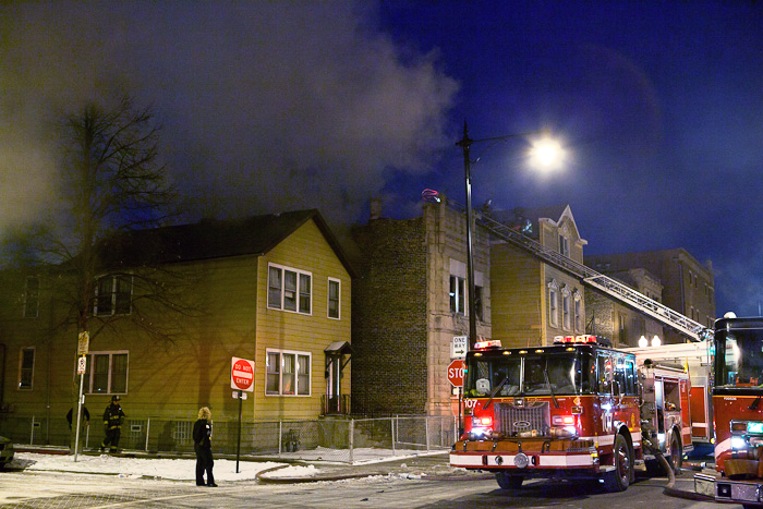 Chicago Fire Department Still and Box Taylor and Western