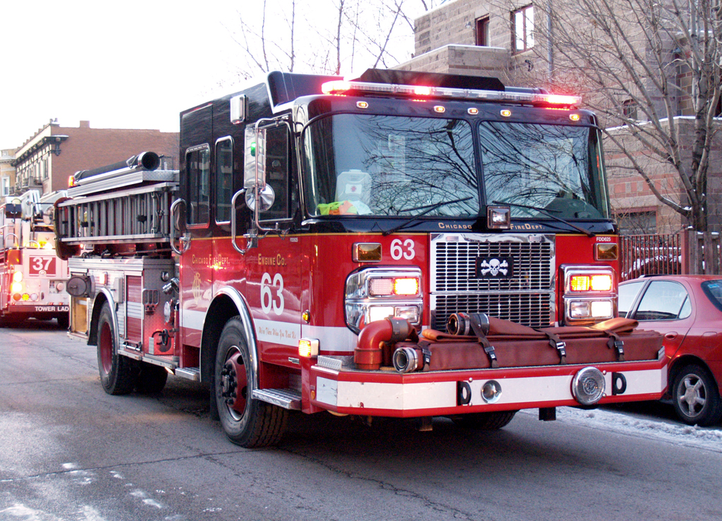 Chicago Fire Department Still & Box 4800 S. Lake Park