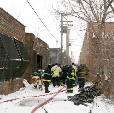 Chicago Fire Department double LODD Dec 22, 2010
