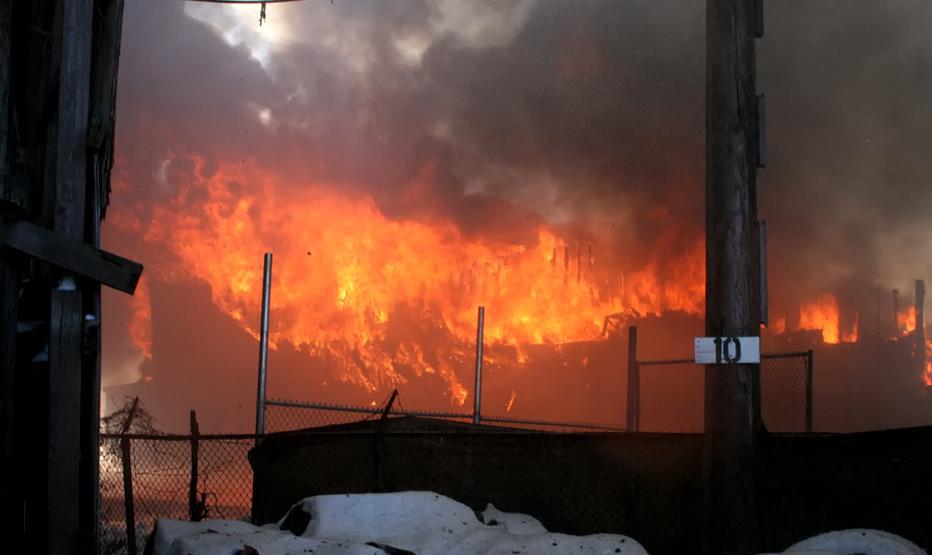All Star Gentlemen's Club fire - Leyden Township Northlake, IL