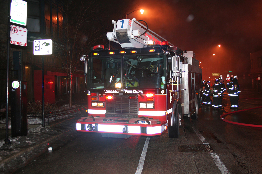 Chicago Fire Department Still and Box Alarm Wabash Avenue Squad 1