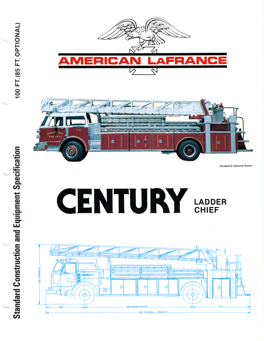 American LaFrance Ladder Chief brochure