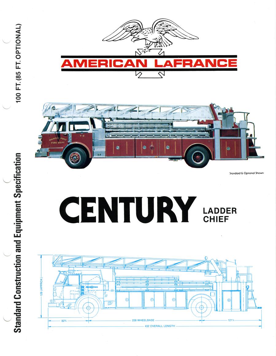 American LaFrance Ladder Chief brochure