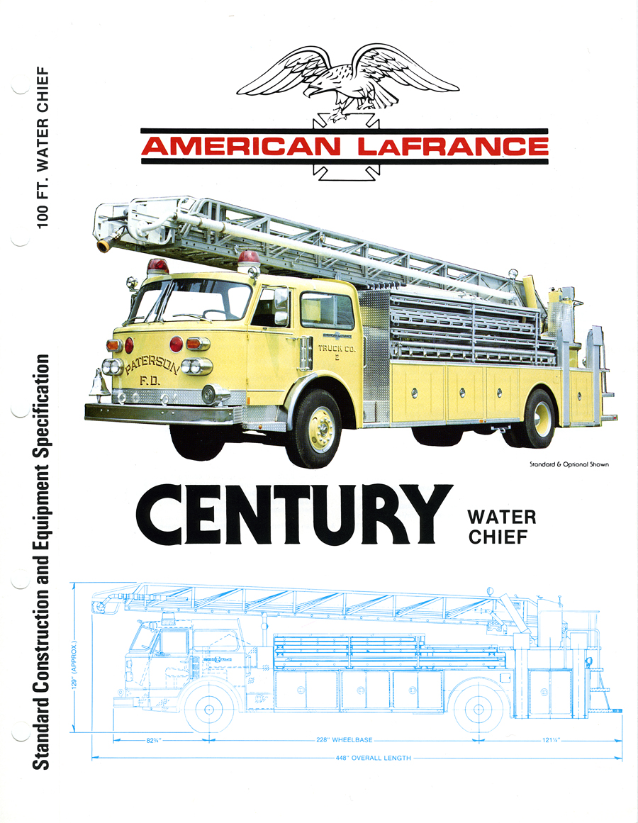 American LaFrance Water Chief brochure
