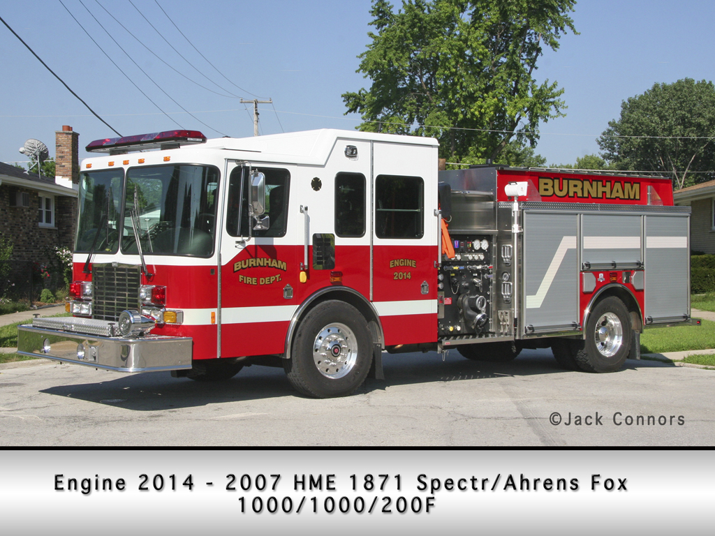Burnham Fire Department HME Ahrens Fox