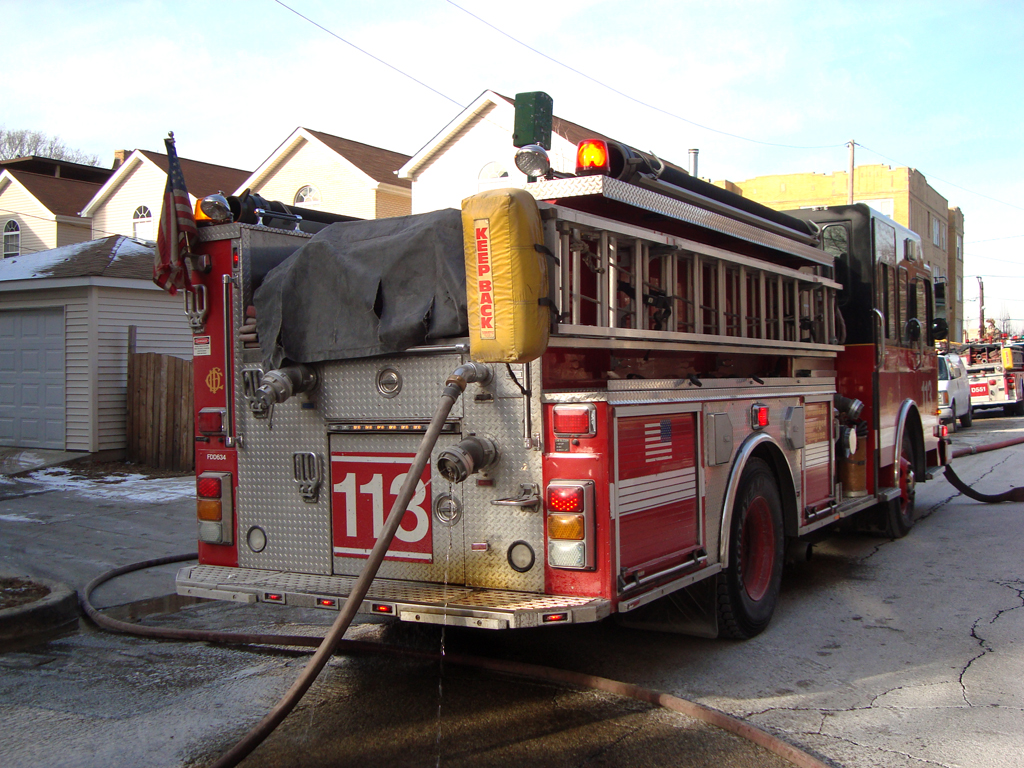 Chicago Fire Department Still Alarm 716 S. Kildare