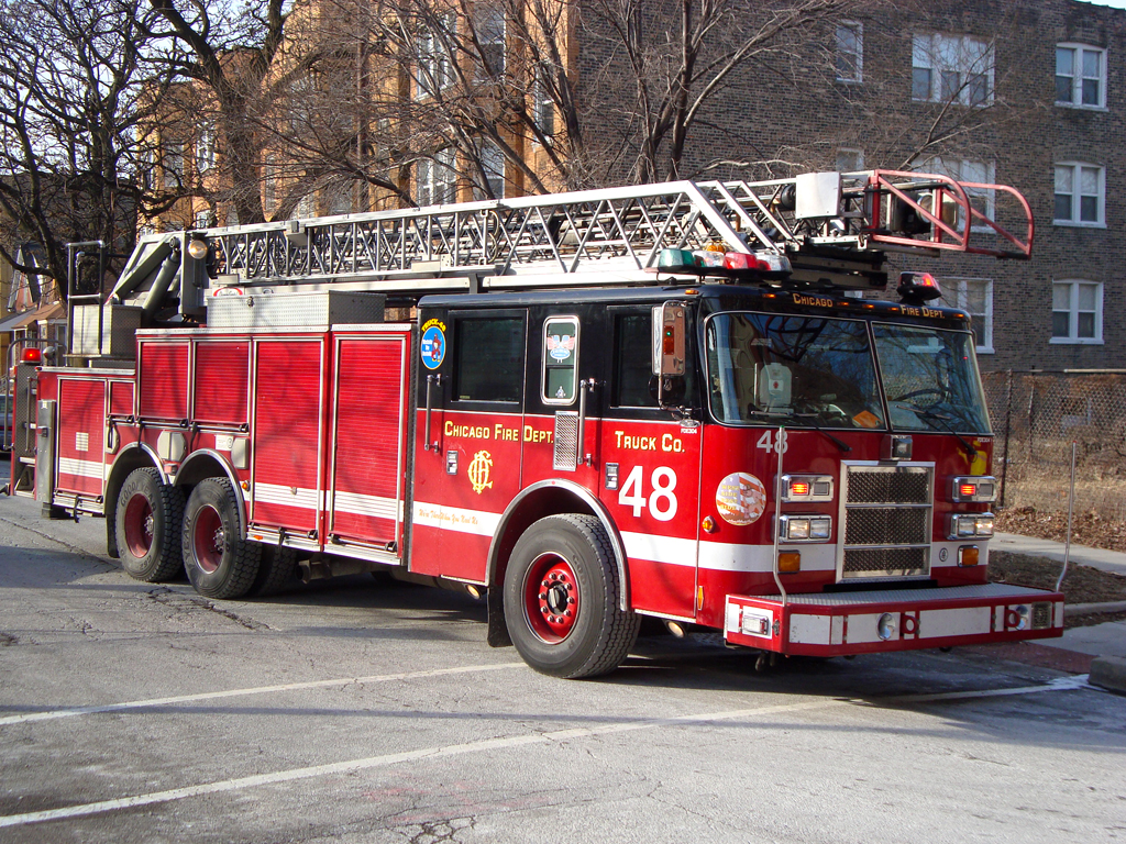 Chicago Fire Department Still Alarm 716 S. Kildare Truck 48