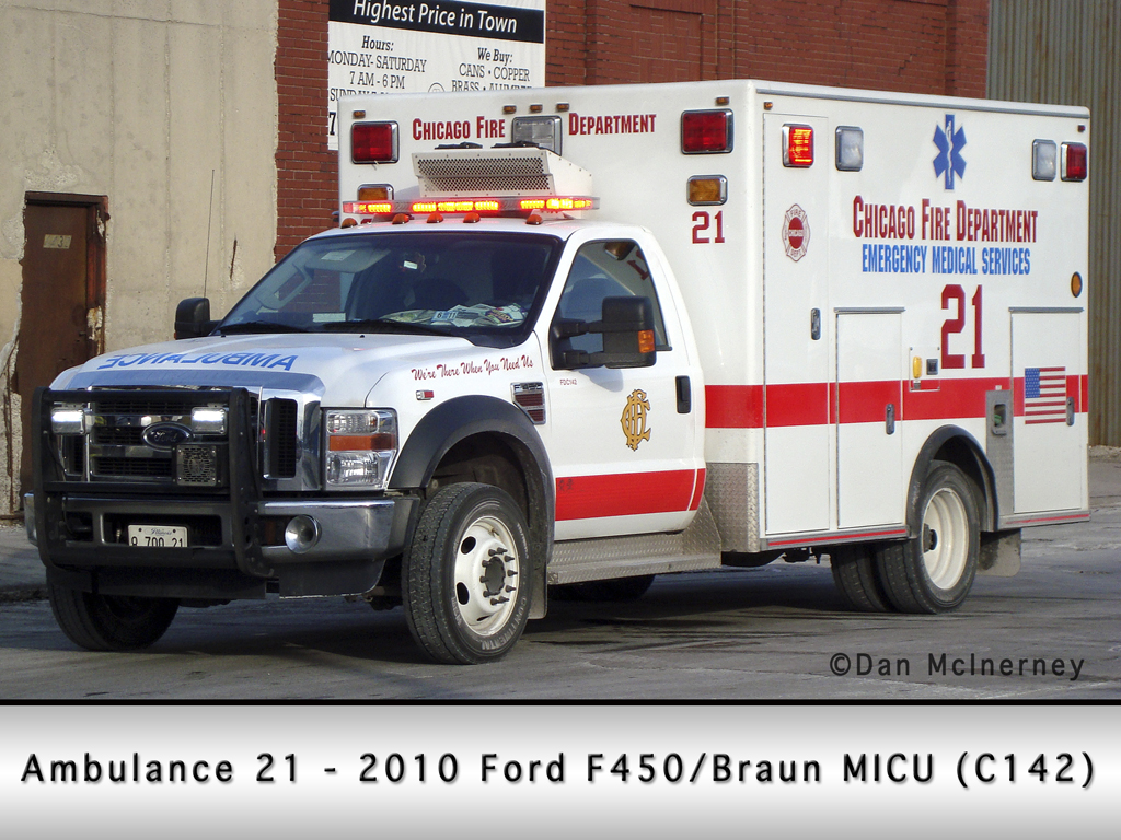 Chicago Fire Department Ambulance 21