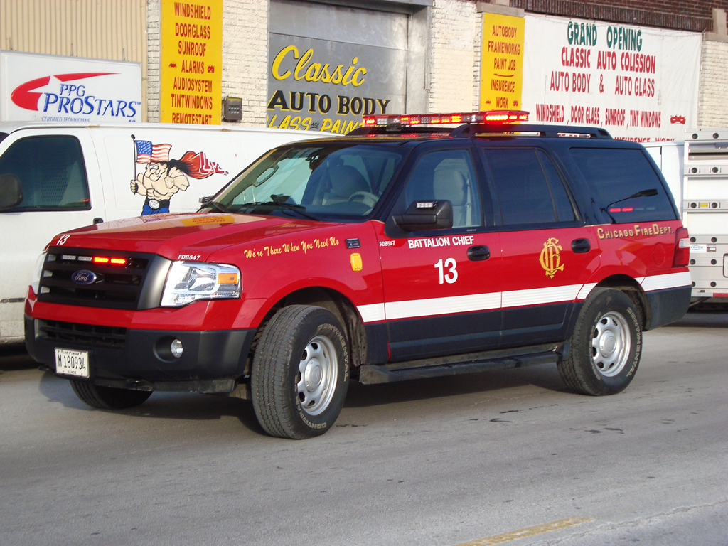 Chicago Fire Department Battalion 13