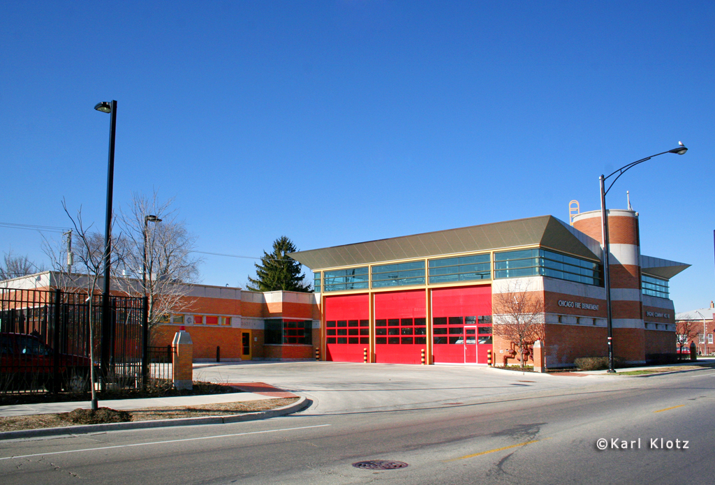Chicago Fire Department station for Engine 88
