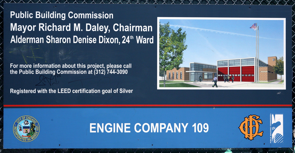 Chicago Fire Department fire station for Engine 109