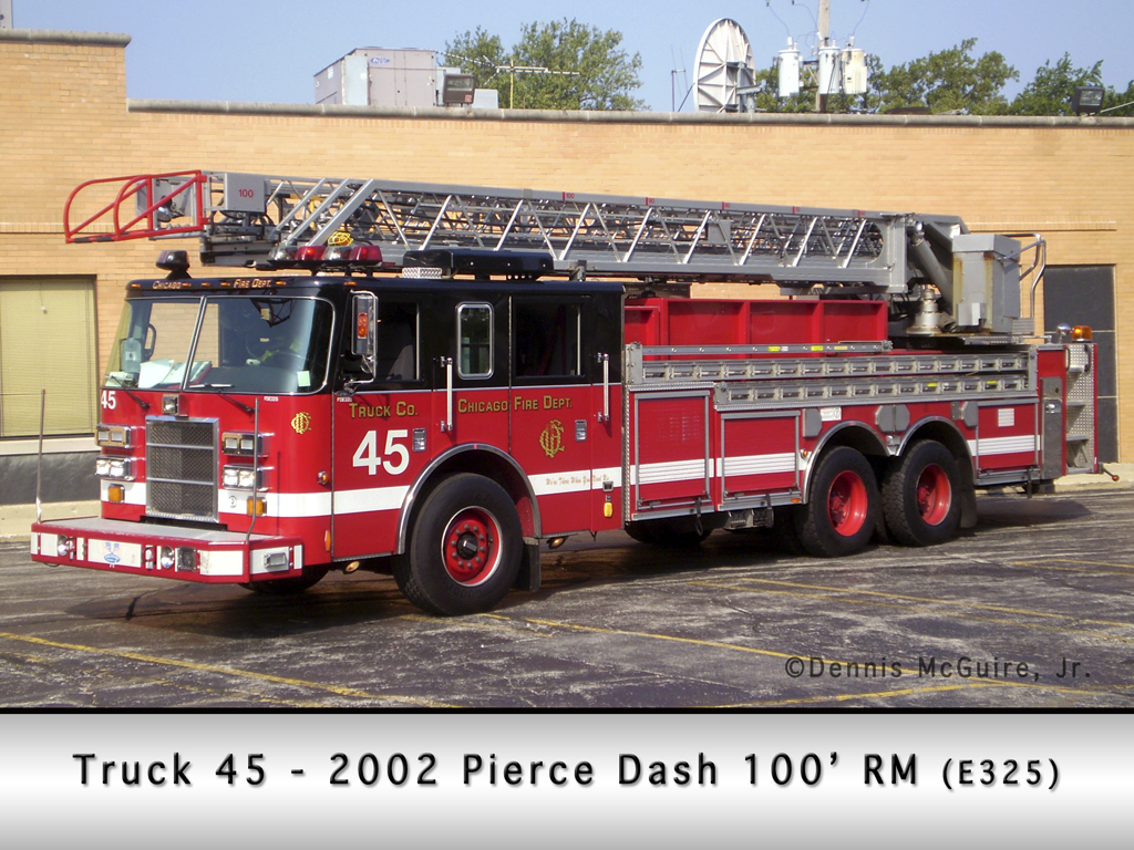 Chicago Fire Department Truck 45