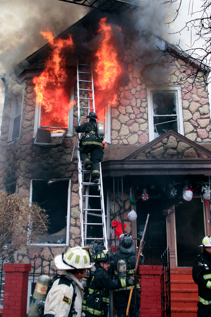 Chicago Fire Department 2-11 Alarm Fire 4315 W. 25th Place