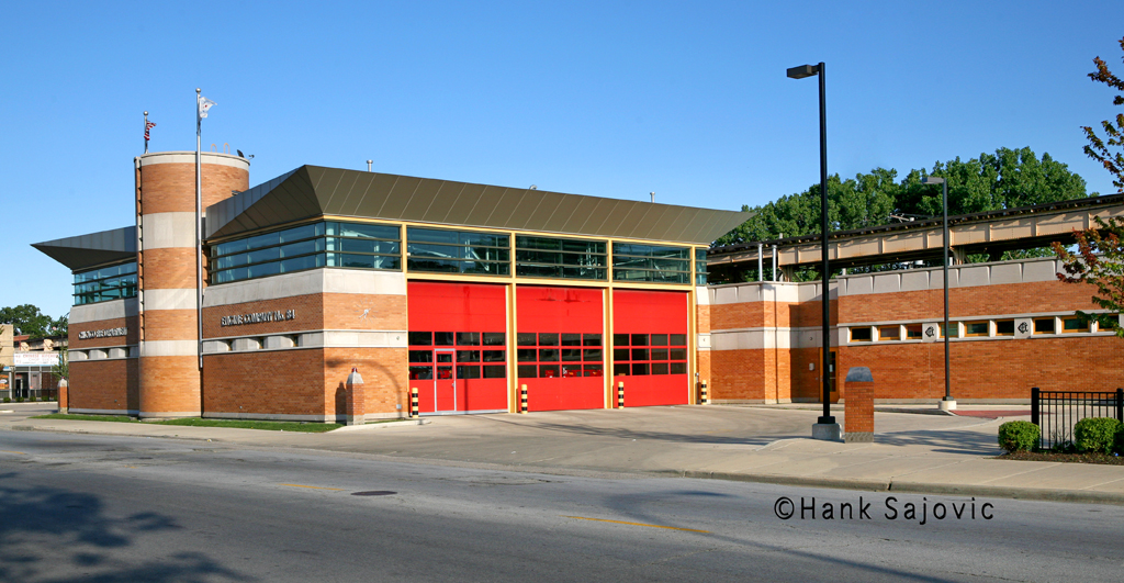 Chicago Fire Department Engine 84 fire station