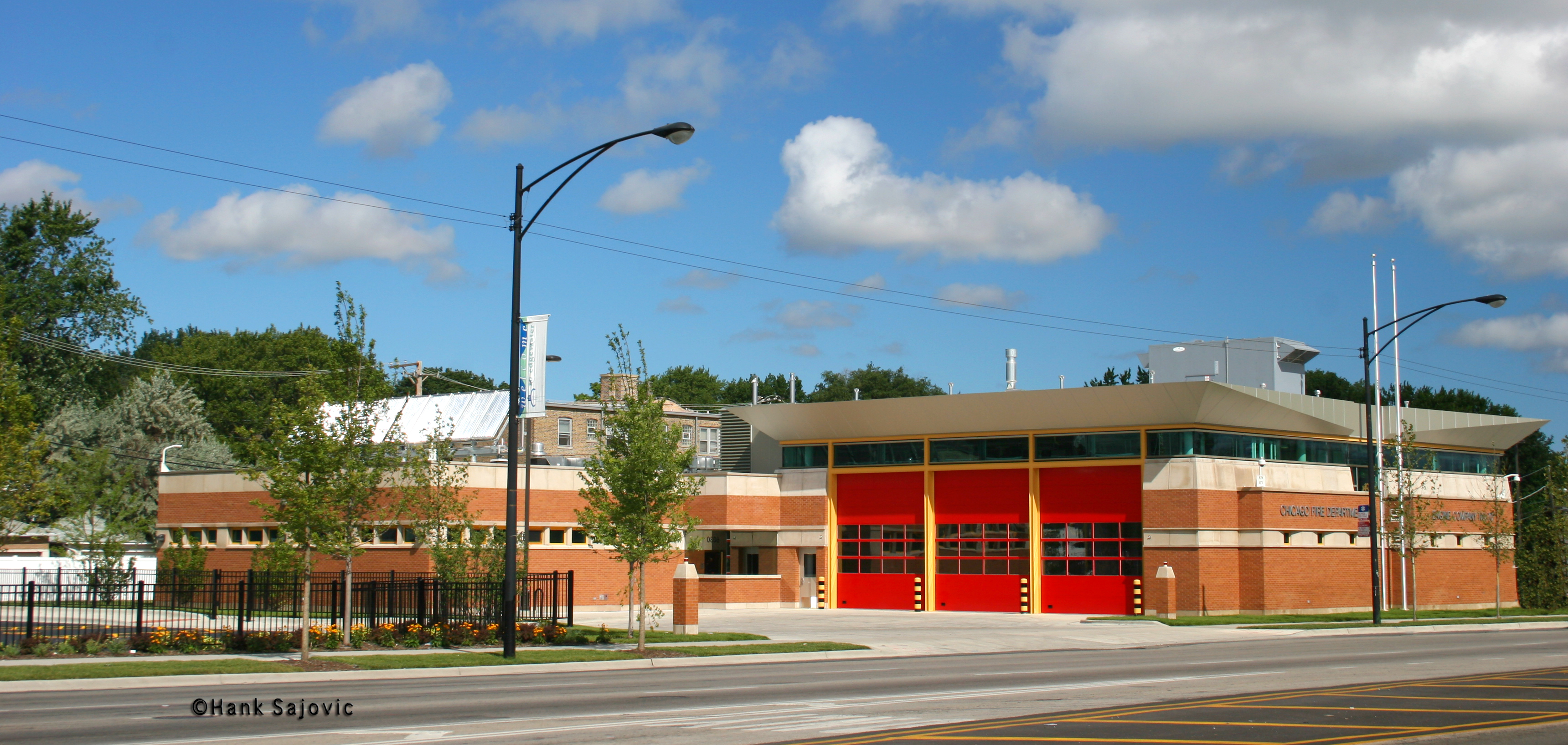 Chicago Fire Department fire house Engine 59 Engine 70