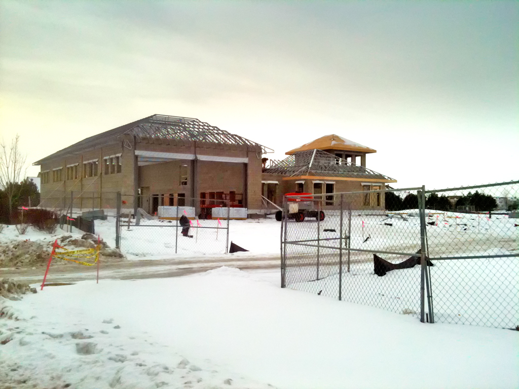 Huntley Fire Department station 4 construction