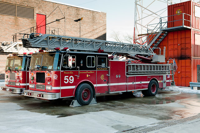 Chicago Fire Department Truck 59 1996 Seagrave