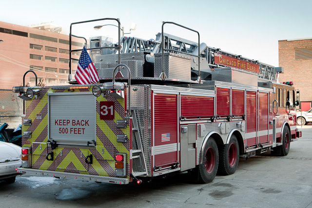 Chicago Fire Department Truck 31 2010 Spartan Crimson