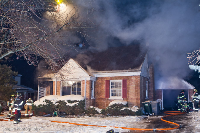 Libertyville Fire Department house fire Wrightwood Terrace