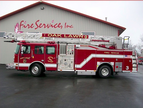 Oak Lawn Fire Department Quint 3