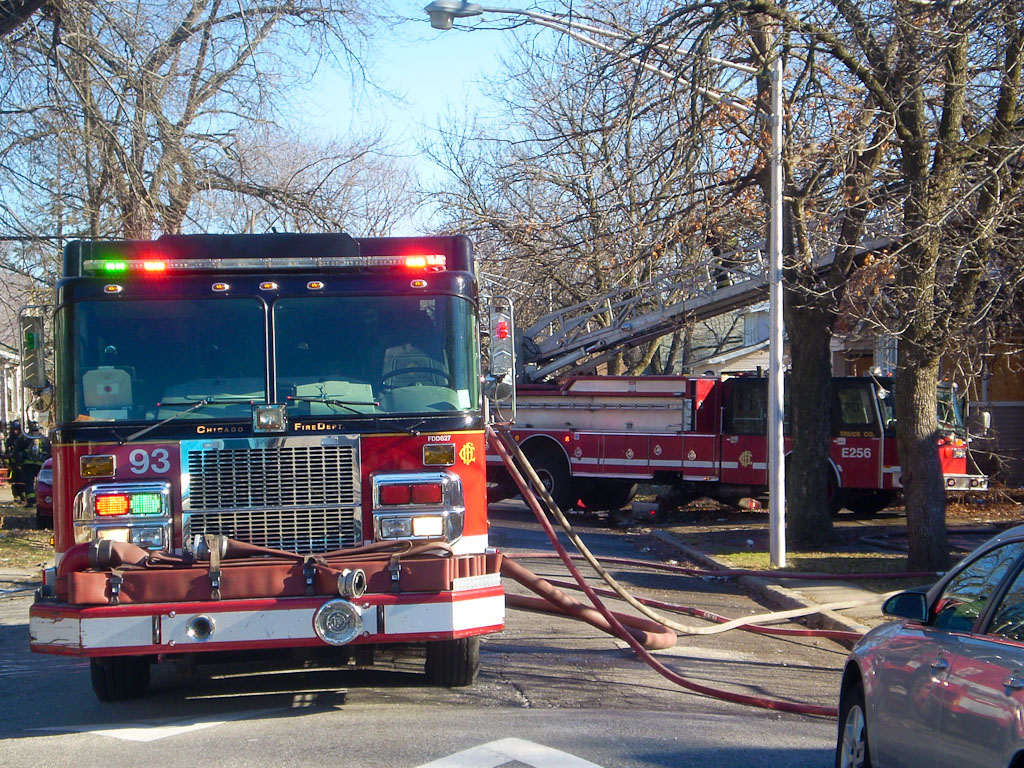 Chicago Fire Department house fire 106th Street