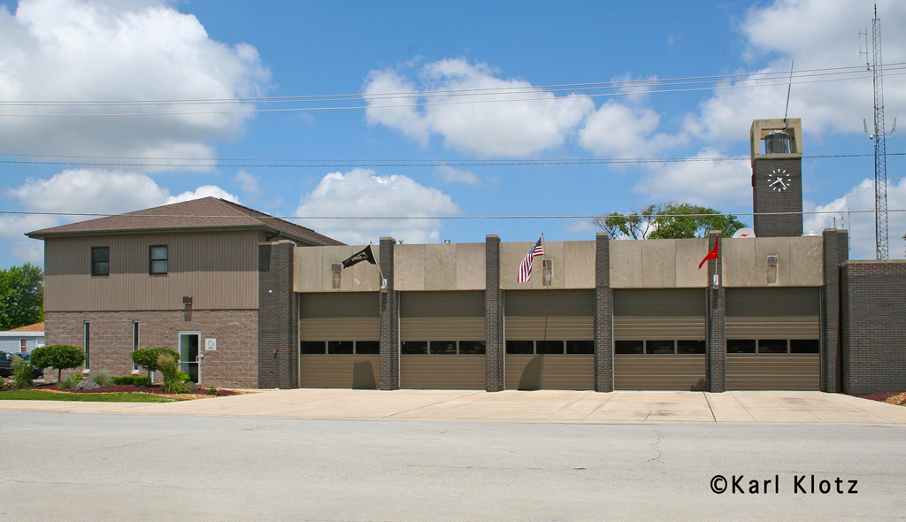 Posen Fire Department station