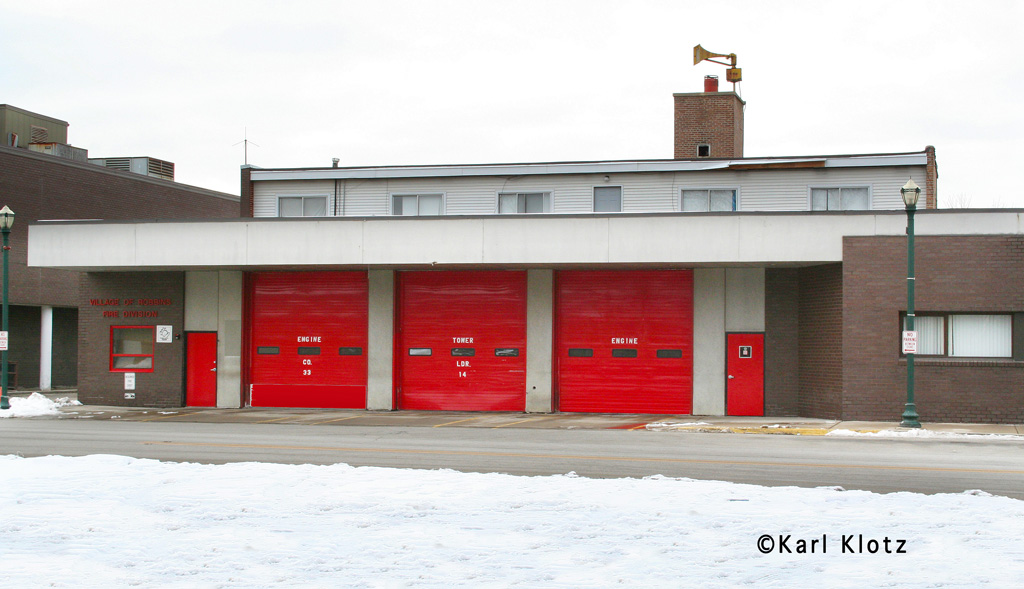 Robbins Fire Department station