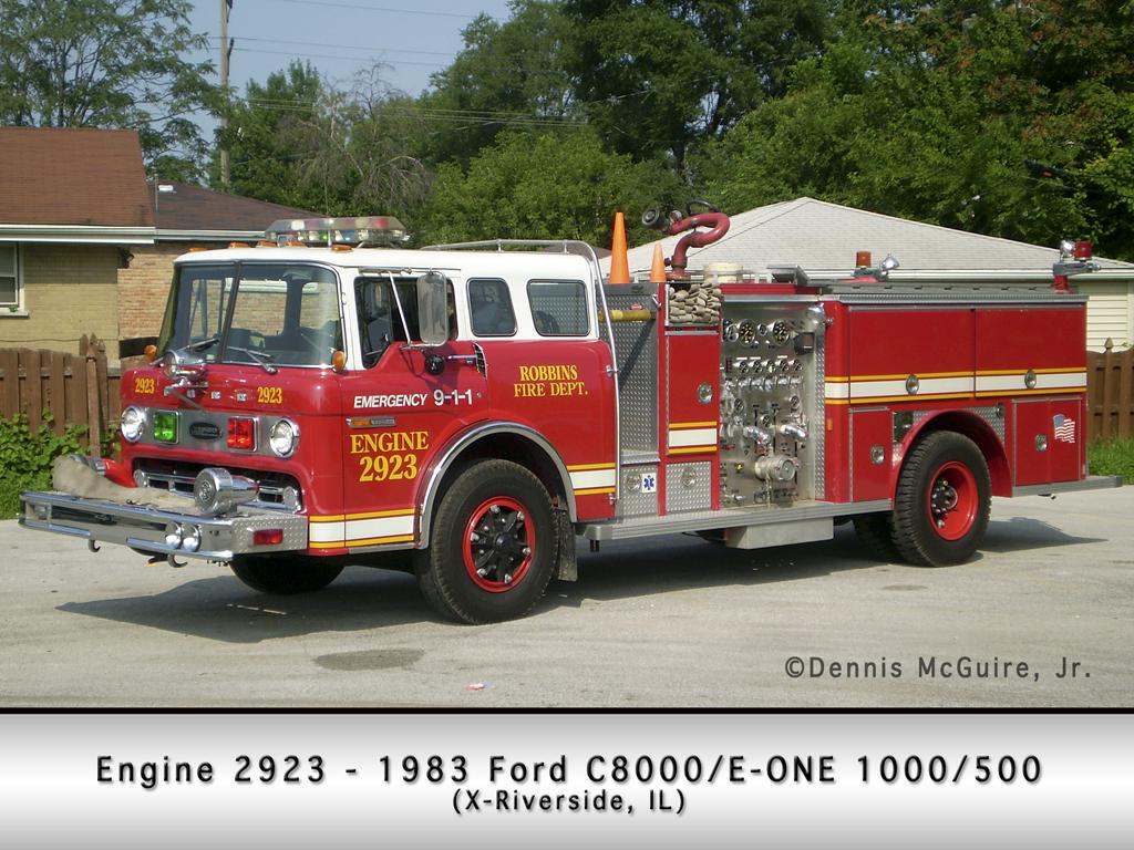 Robbins Fire Department Engine 2923
