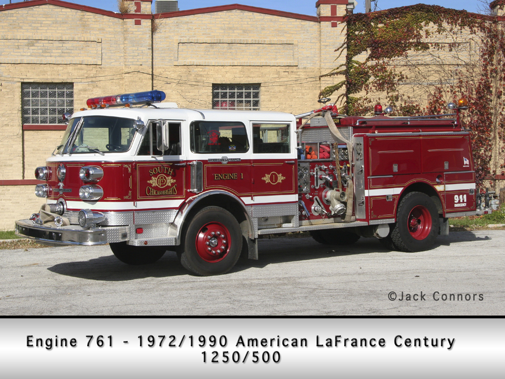 South Chicago Heights Fire Department American LaFrance Century pumper