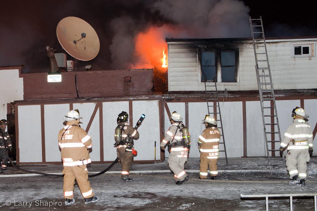 Schiller Park Fire Department 3-11 at 9639 Irving Park Road Jan 27, 2011