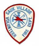 Sauk Village Fire Department patch