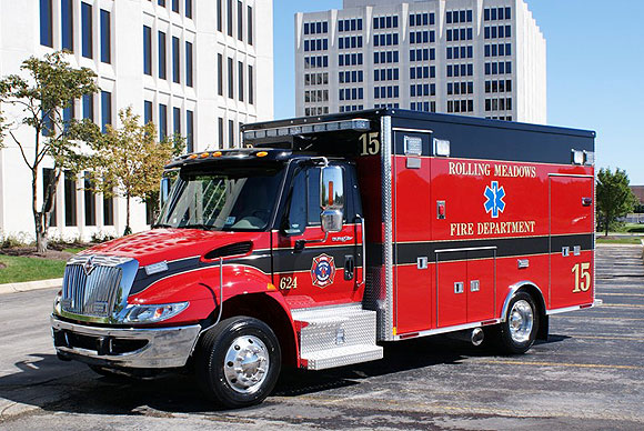 Rolling Meadows Fire Department Medtec ambulance