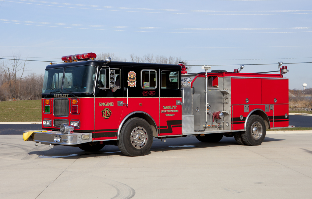 Bartlett Fire District Seagrave Engine - Fox River & Countryside Fire Rescue District