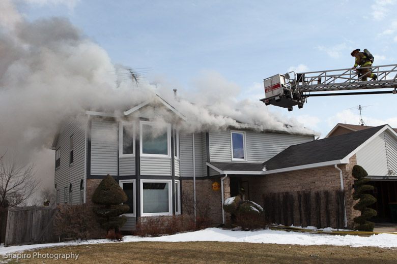 Buffalo Grove House Fire 2 25 11 171 Chicagoareafire Com
