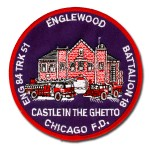 Chicago Fire Department patch Engine 84