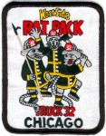 Chicago Fire Department patch Truck Company 32